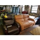 Hartly Leather Pushback Recliner