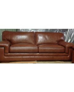 """Myers 91"""" Leather Sofa Reg. $1,849.00 ===> OUTLET PRICE $849.00"""