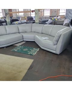 Belice 3-Pc. Leather Modular Sofa
