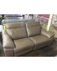 Gen 2-pc Leather Sectional Sofa with Power Headrest