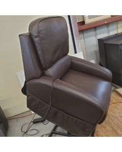 Karwin brown leather Left chair