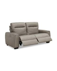 Sheadle 2-Pc. Leather Sectional Sofa with 2 Power Recliners