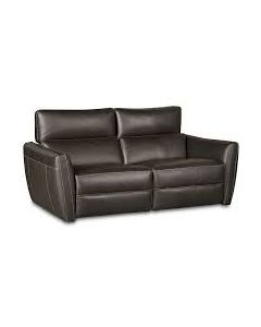 "Fana 68""  Leather Sofa Power Recliners  Articulating Headrest"