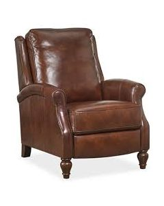 Lee leather Pushback Recliner