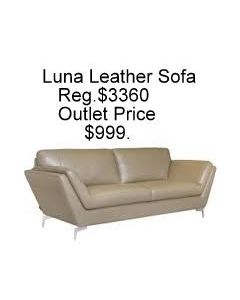 Chateau D'ax Luna Leather Sofa