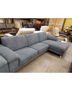 Nicoletti Gray Sectional Fabric - SALE $999.00 - WOW !