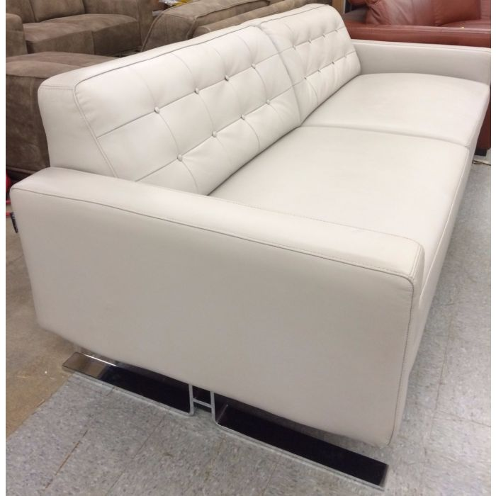 Beau Capri   Chateau Du0027Ax Leather Sofa Leather : Color Dovegray Chateau Du0027ax