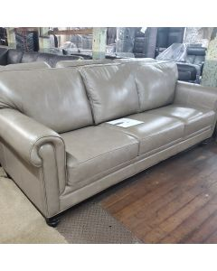Stewart Brandy Leather Color : Marble sofa
