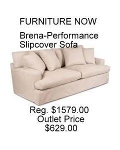 Brena - Performance Slipcover Sofa - White