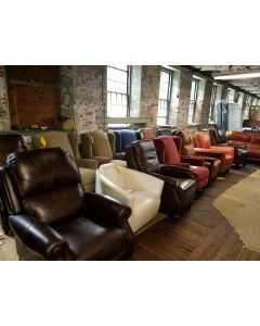 Famous Maker Recliners and Chairs $199 and Up... Real Furniture Deals !
