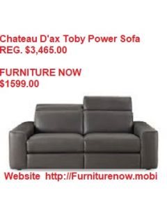 Tobys Power Recline Sofa